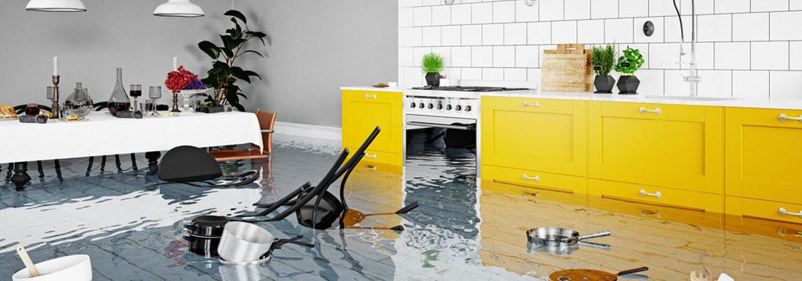 Cas de dégâts des eaux